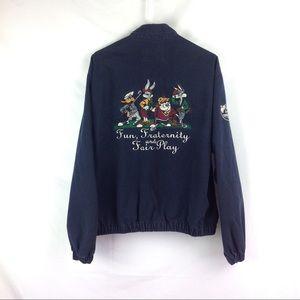 Vintage Acme Looney Tunes Acme Golf Jacket Men's M